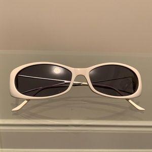 MIU MIU White Sunglasses SMU-11E